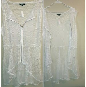 Other - Sexy Plus High Low suit cover up